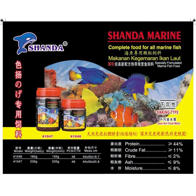 Shanda marine for Marine fish store