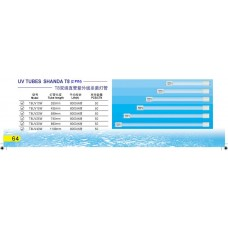 UV Tubes Shanda T8 (2 pin)