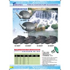 Pond & Fountain Pump Accessories
