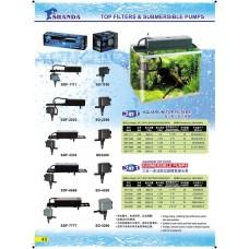 Top Filters & Submersible Pumps