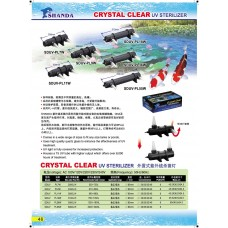 Crystal Clear UV Sterilizer