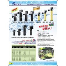 Aquarium Internal Liquid Filters (LED)